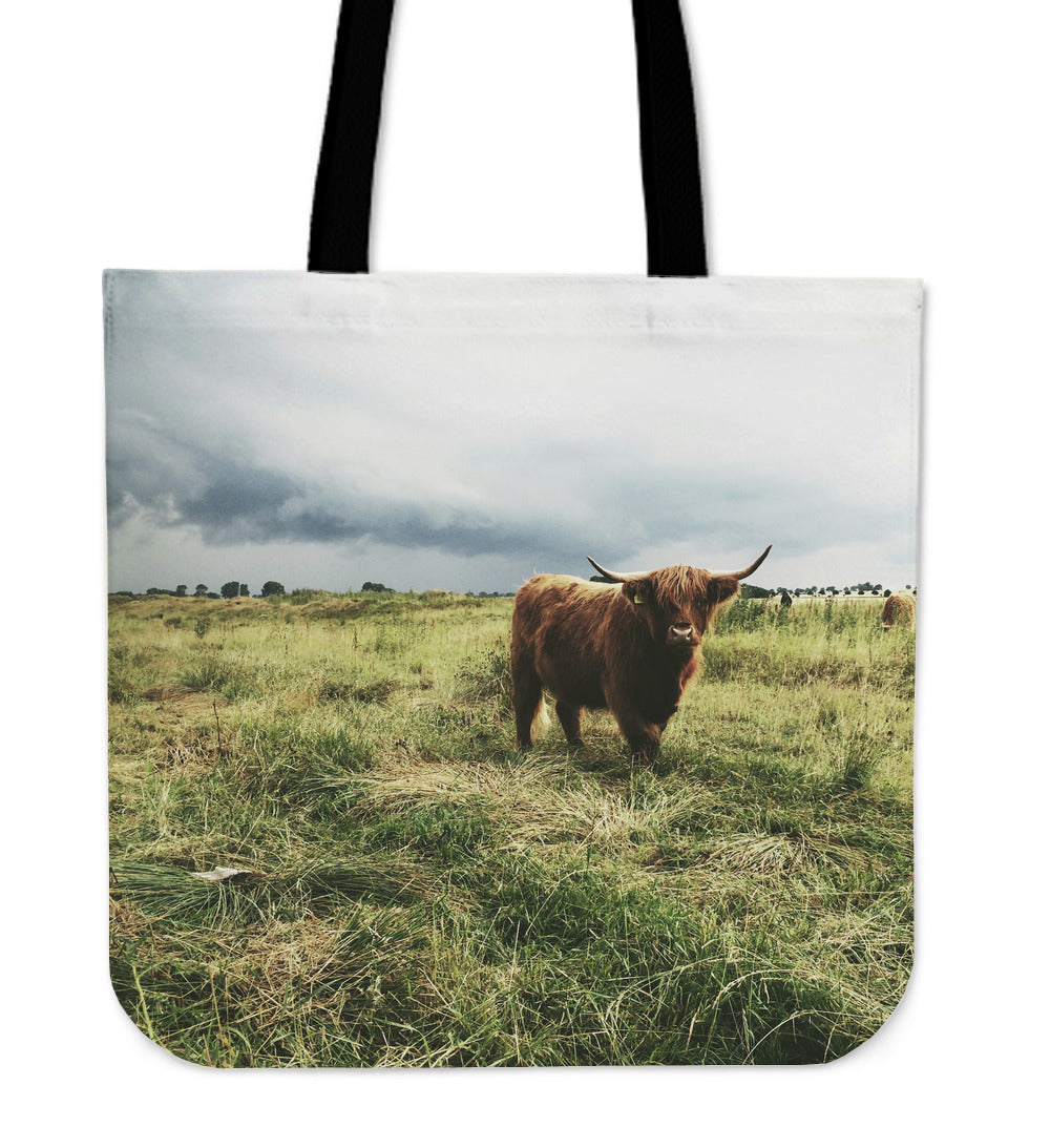 Hairy Highland Coo Tote Bag