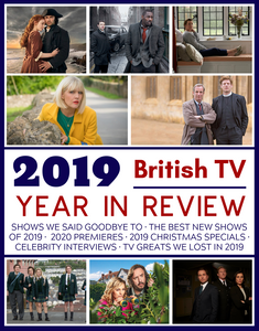 British TV Field Guide + 2019 British TV Year in Review Magazine Bundle