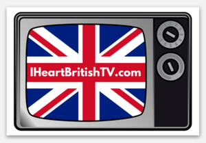 I Heart British TV Sticker (2)