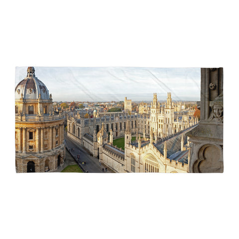 Oxford, City of Dreaming Spires Beach Towel
