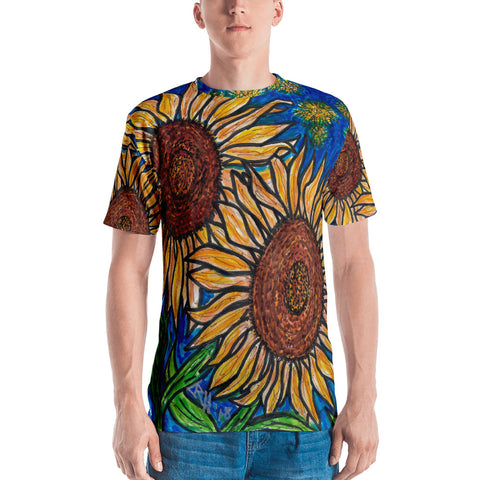 Charles Hutson Sunflower Men's T-Shirt
