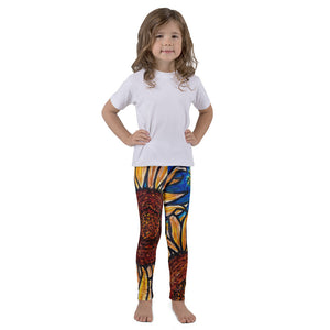 Charles Hutson Original Kids' Sunflower Leggings