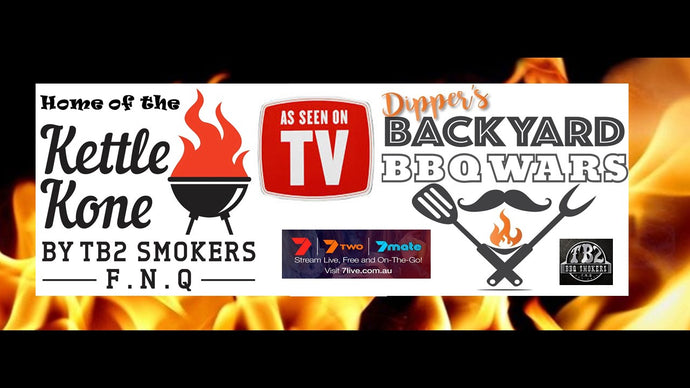 Kettle Kone Featured on Dipper's Backyard BBQ Wars