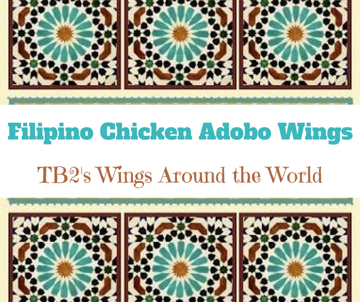 Filipino Adobo Chicken Wings