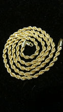 14K Italian Gold Rope Chain 24""