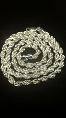 Stainless Steel Rope Chain 24