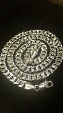 Stainless Steel Cuban Link Chain 24