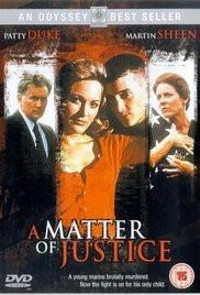 A Matter of Justice lifetime movie dvd