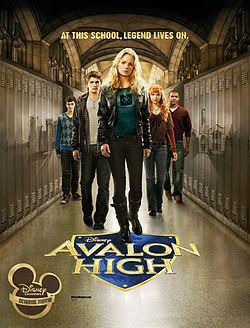 Avalon High dvd Disney movie