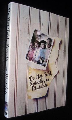 Do Not Fold Spindle or Mutilate movie dvd