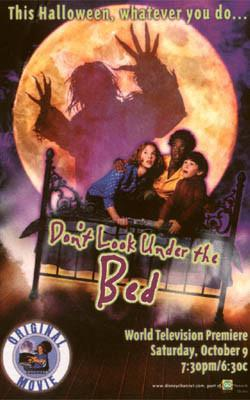 Dont Look Under the Bed dvd Disney movie