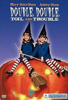 Double Double Toil and Trouble movie dvd mary kate & ashley