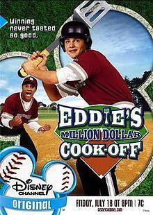 Eddies Million Dollar Cook Off dvd Disney movie