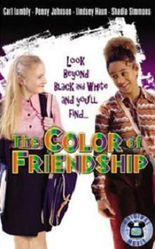The Color of Friendship dvd Disney movie