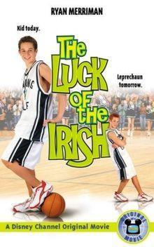The Luck of the Irish dvd Disney movie