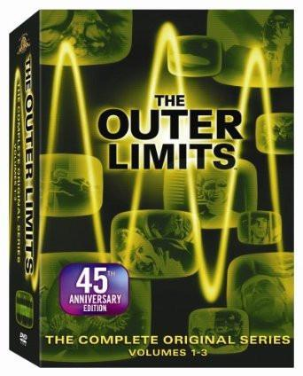 The Outer Limits 1963 complete series dvd season 1-2 Sci Fi