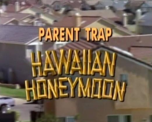 The Parent Trap IV Hawaiian Honeymoon