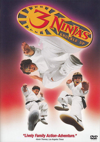 3 Ninjas Knuckle Up movie dvd