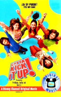 Gotta Kick It Up! dvd Disney movie