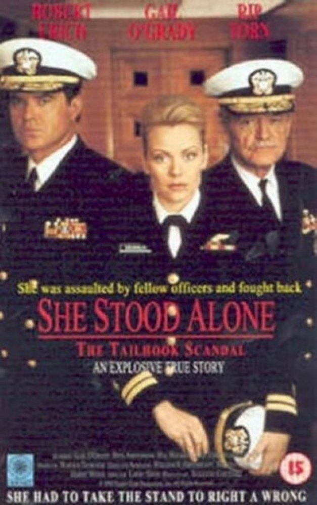 She Stood Alone The Tailhook Scandal lifetime movie dvd