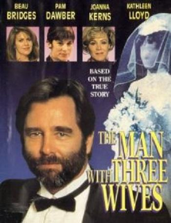 The Man With Three Wives 1993 Beau Bridges dvd