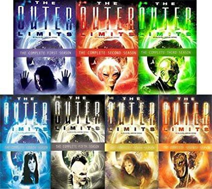The New Outer Limits dvd complete series