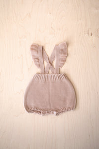Frill Knit Overall