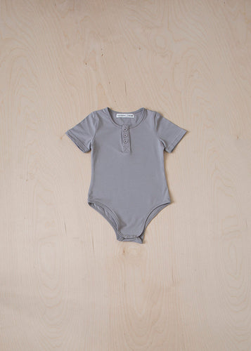 Short Sleeve Button Bodysuit
