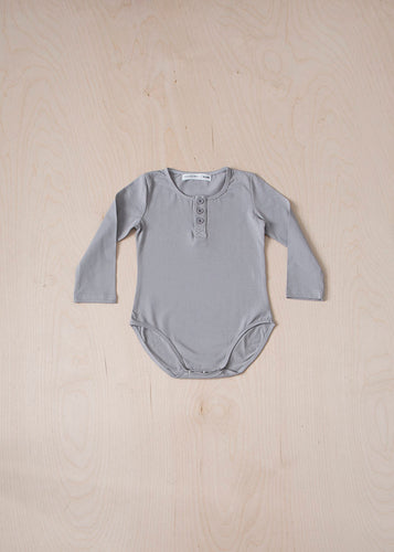 Long Sleeve Button Bodysuit