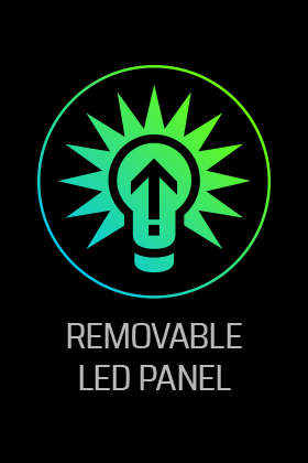 Removable LED Panel