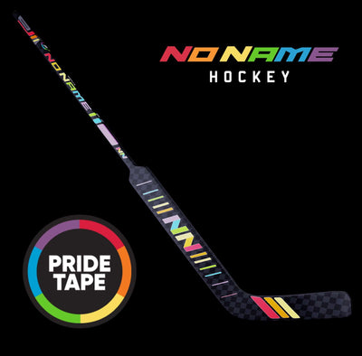 No Name Hockey Ltd. Pride Tape Senior Goal Stick
