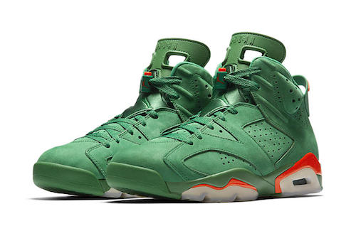 d2922c6f9d6 Jordan Retro 6 Green Gatorade Collection