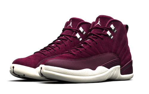 6ce0ee1bd9c1 Jordan Retro 12 Bordeaux Sneaker Collection