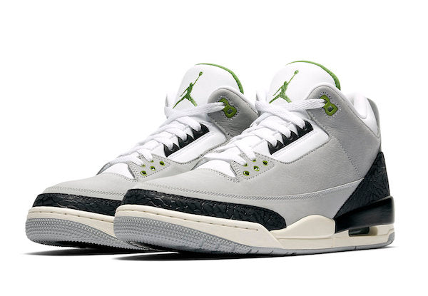 e641d8a5cd9dfa Jordan Retro 3 Chlorophyll Collection