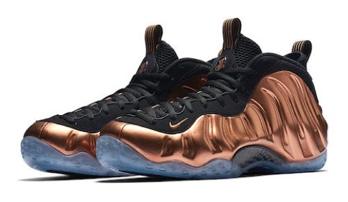 dea4e07ad476fb Copper Foamposites Collection