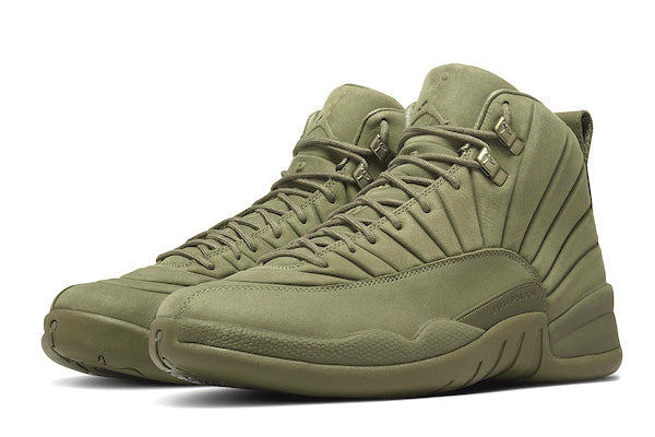 ad16c6753e1f03 Jordan Retro 12 Olive PSNY Collection