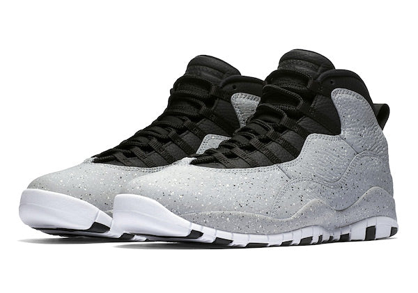 reputable site 61e0d 042ec Jordan Retro 10 Light Smoke Grey Cement Collection
