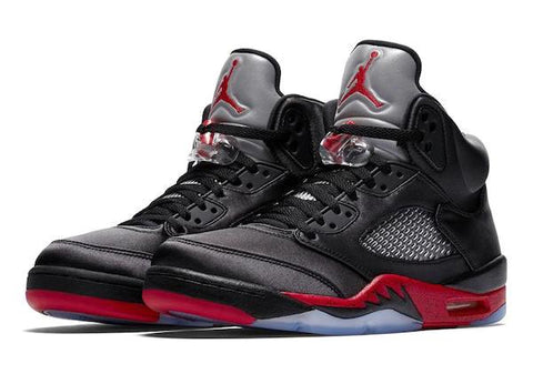 info for 56348 be29b Jordan Retro 5 Satin Collection