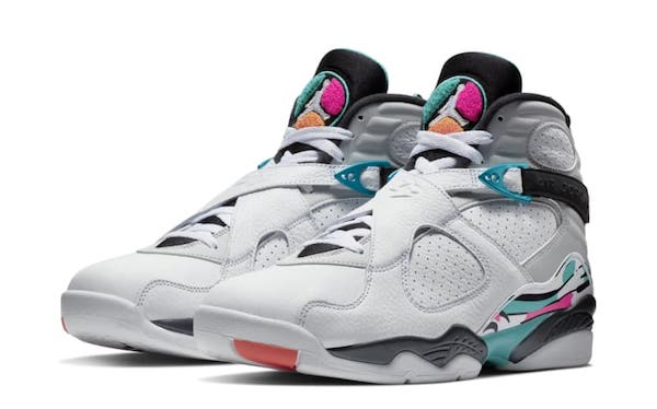 best sneakers 1aef0 42f0a Jordan Retro 8 South Beach Collection