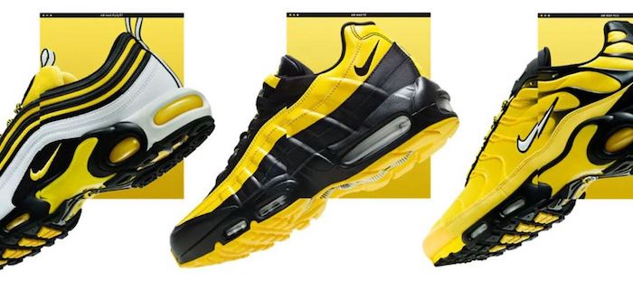 4ba3d5a216d Nike Air Max Frequency Bumble Bee Pack