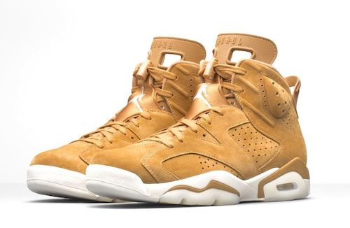 b615f40eb8120b Jordan Retro 6 Wheat Collection