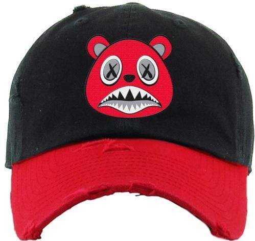 Baws : Hats Dad Hat Angry Baws Dad Hat - 2Tone Black/Red