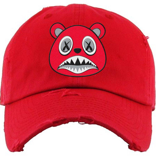 Baws : Hats Dad Hat Angry Baws Red Dad Hat