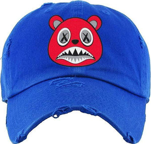 Baws : Hats Dad Hat Angry Baws Royal Blue Dad Hat