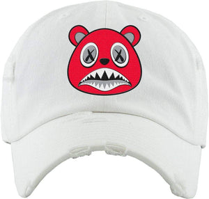 Baws : Hats Dad Hat Angry Baws White Dad Hat