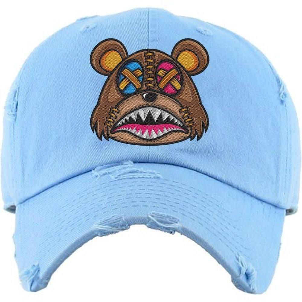 Baws : Hats Dad Hat CRAZY STITCHED BAWS Carolina UNC Dad Hat