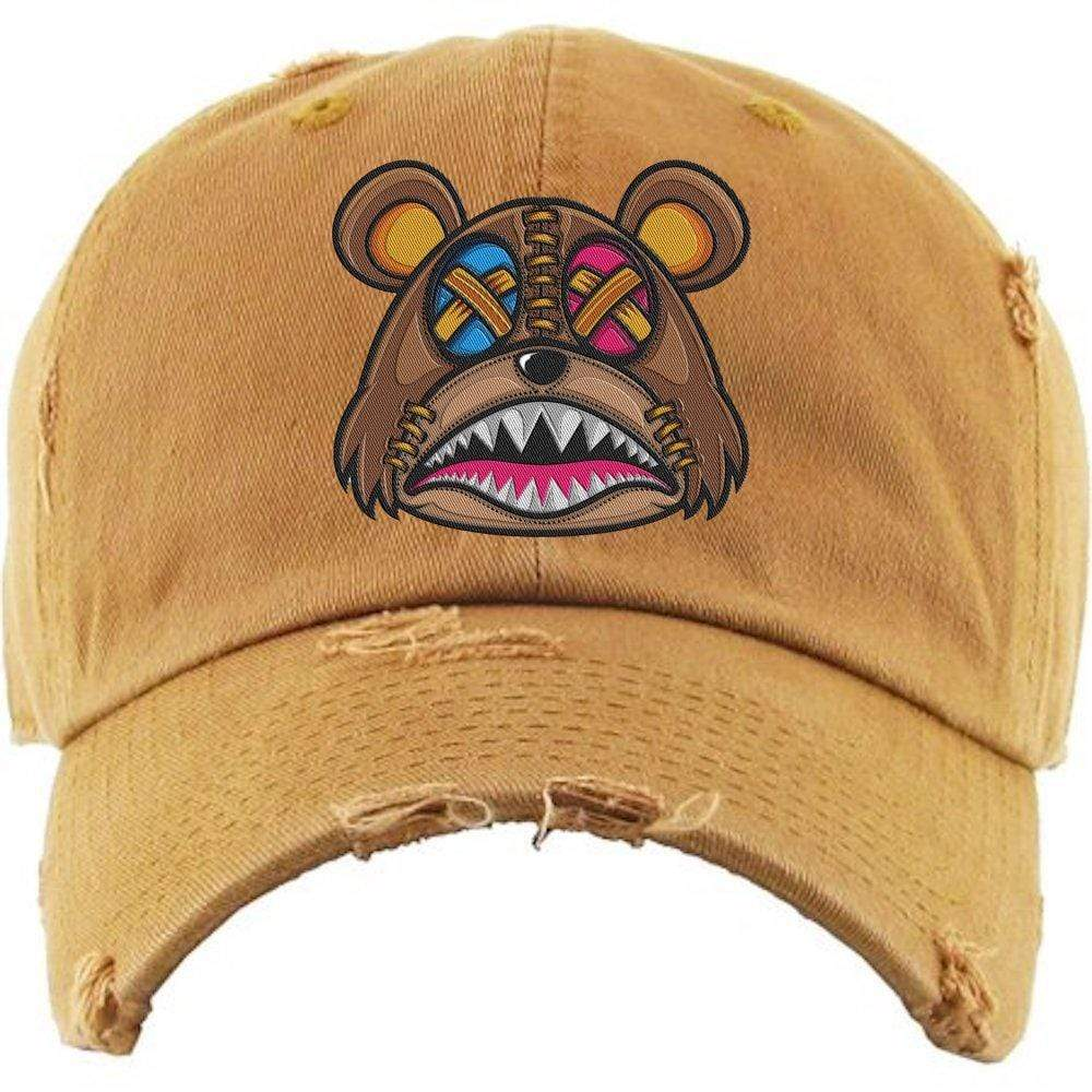 Baws : Hats Dad Hat Crazy Stitched Baws Dad Hat - Wheat