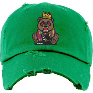 Baws : Hats Dad Hat GRIZZLY BAWS Kelley Green Dad Hat