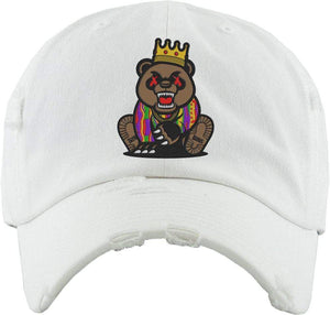 Baws : Hats Dad Hat GRIZZLY BAWS White Dad Hat