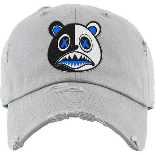 Baws : Hats Dad Hat Royal Scar Baws Light Grey Dad Hat
